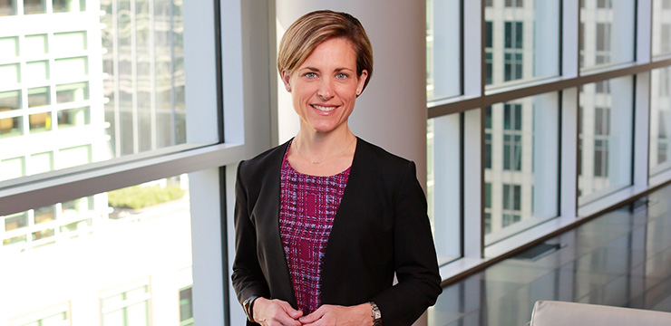 photo of Orrick partner Erin Connell