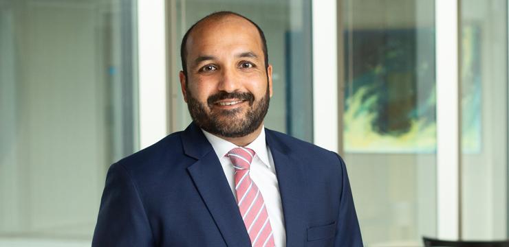 Orrick partner Faraaz Samadi
