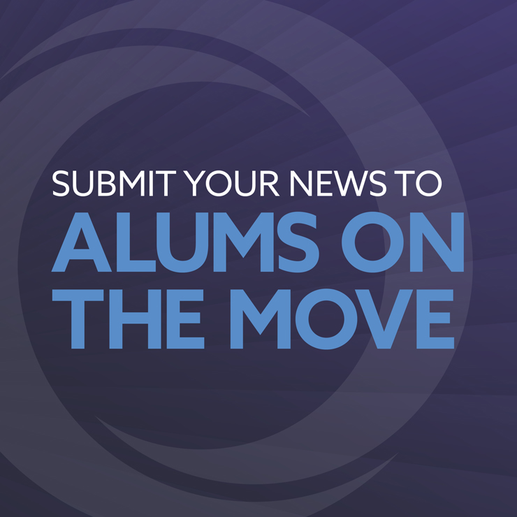 Submit your news to Alums on the Move