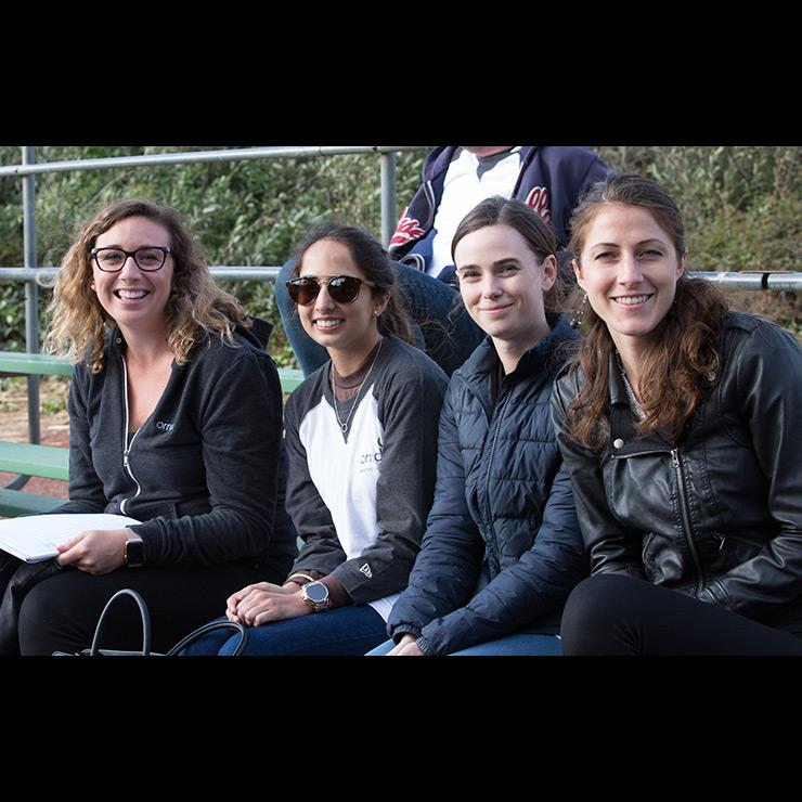 Orrick alumni softball 2019
