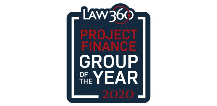 Law360 Project Finance Practice Group of 2020