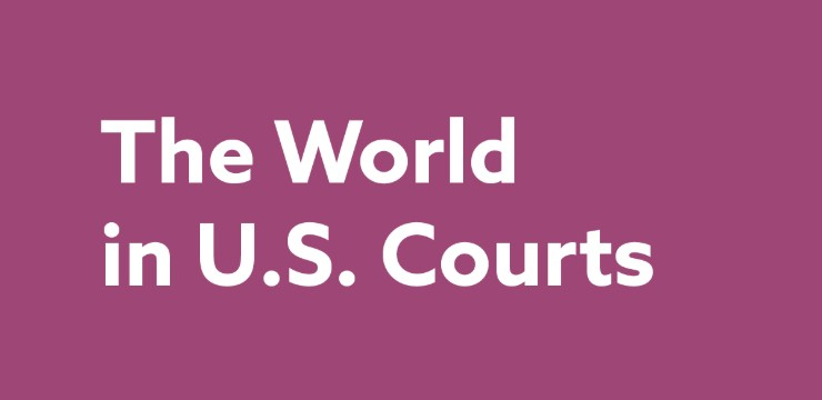 The World in US Courts_740x360