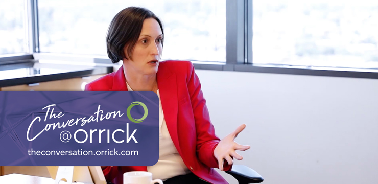 video still of Carolyn Frantz  discussing cybersecurity concerns related to designing new products