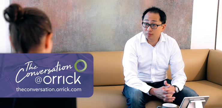 video still of Lisa Lupion and Jonathan Chou discussing employment separation issues for startups