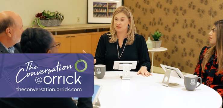 video still of Rhonda Jenkins, Scott Fuller, Wendy Curtis and Vedika Mehara discussing tech upgrades in law practice innovation