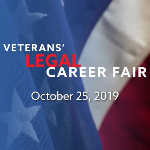 Veterans' Career Legal Fair