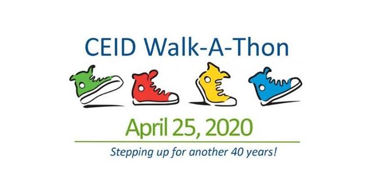 CEID Walk-A-Thon 2020 logo