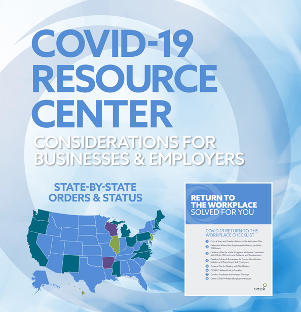 graphic for COVID-19 Resource Center