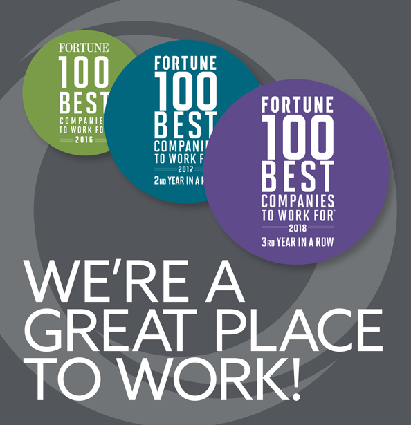We're a Great Place to Work!