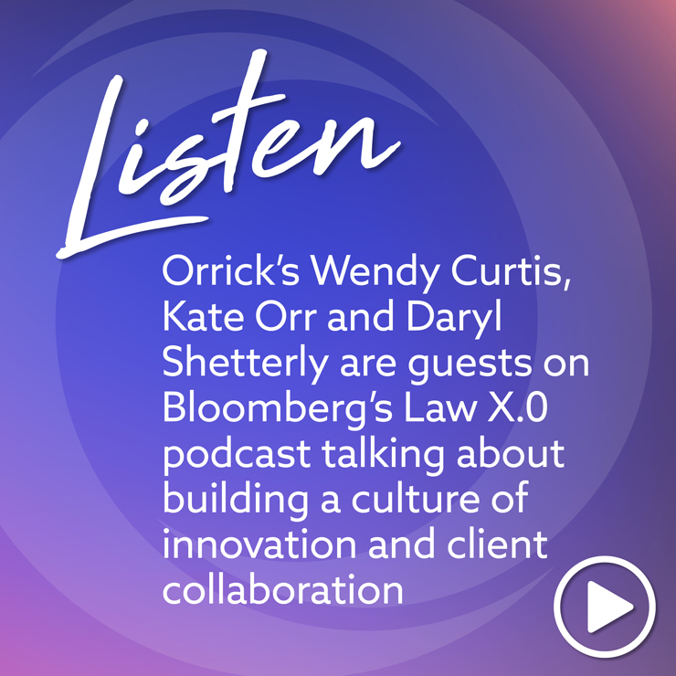 Listen: Bloomberg's Law X.0 podcast