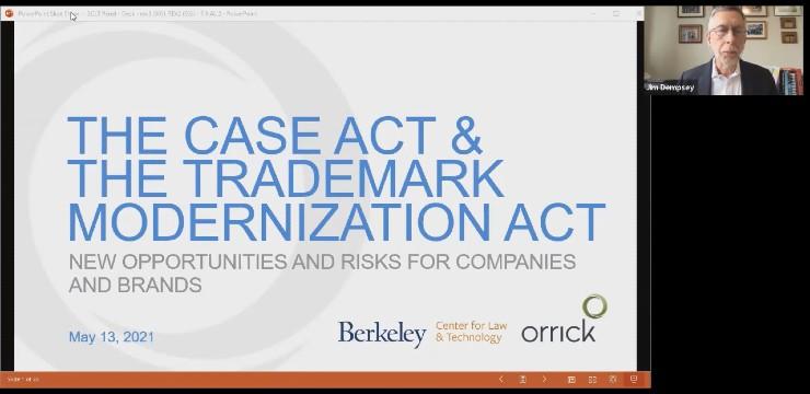 The CASE Act and the Trademark Modernization Act Webinar