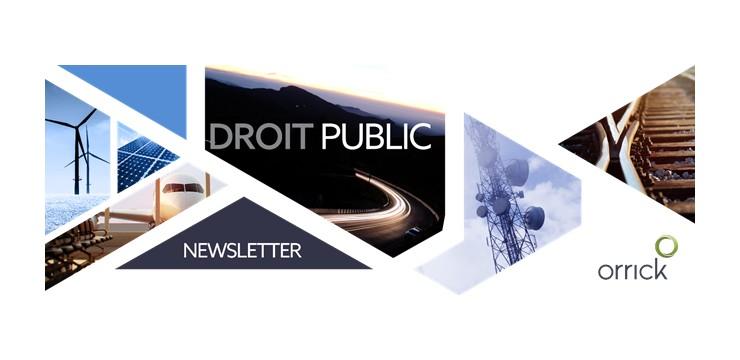 Newsletter Droit Public Orrick