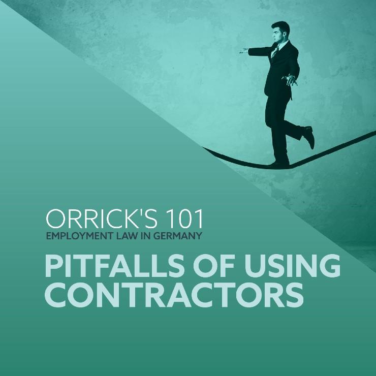 Pitfalls of Using Contractors
