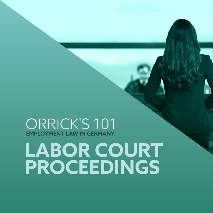 Labor Court Proceedings