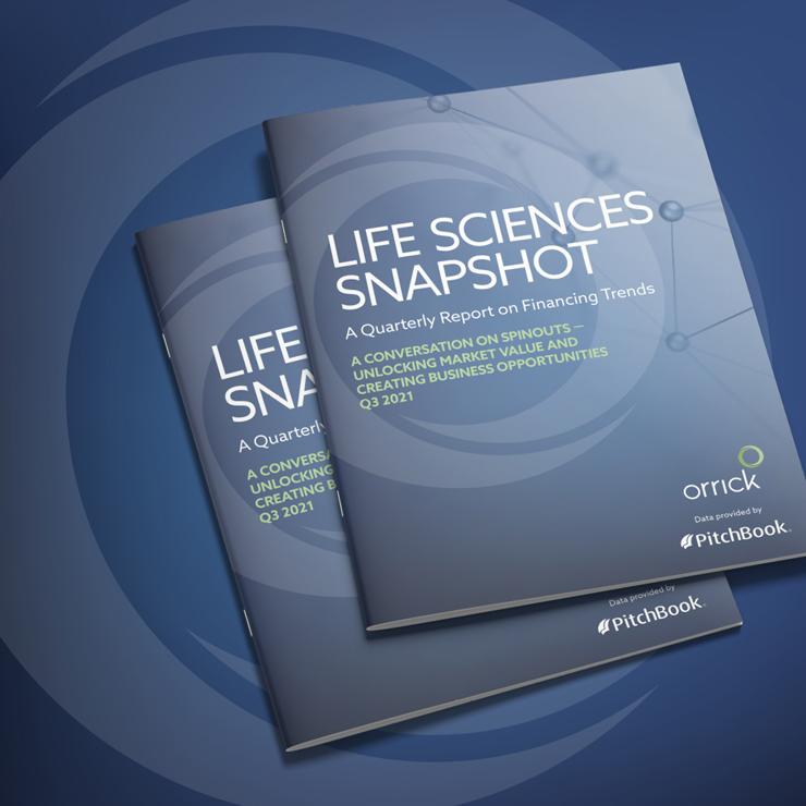 Orrick Life Sciences Snapshot Q3 2021