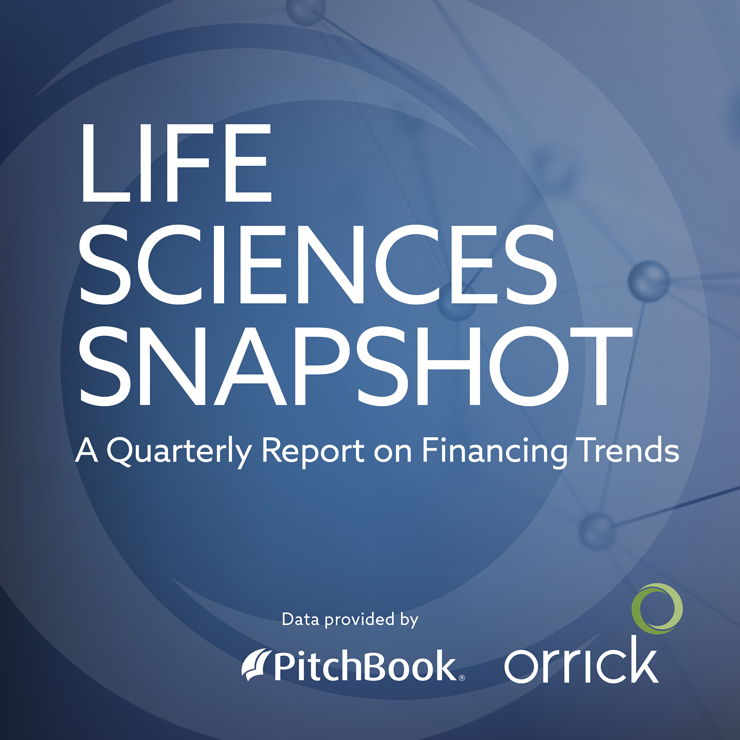 Life Sciences Snapshot - A Quarterly Report on Financing Trends