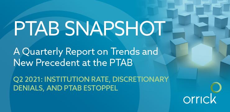 PTAB Snapshot