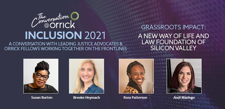 Grassroots Impact: A New Way of Live and Law Foundatin of Silicon Valley