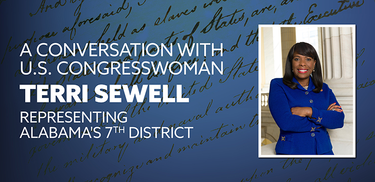A Conversation With U.S. Congresswoman Terri Sewell