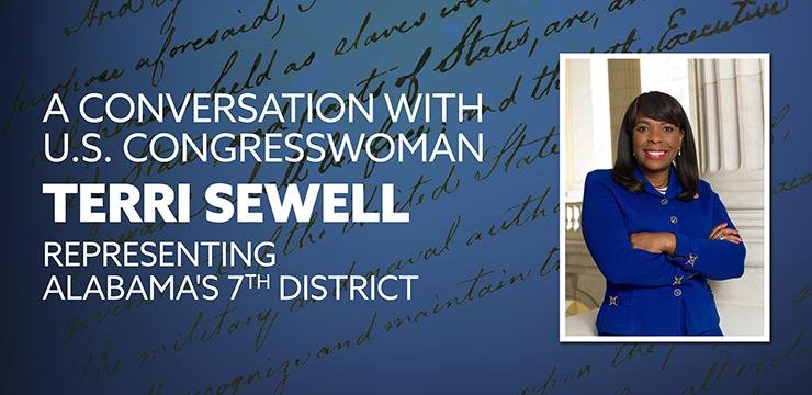 A Conversation With U.S. Congresswoman Terri Sewell