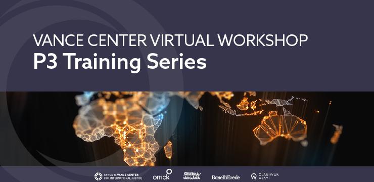 Vance Center Virtual Workshop P3 Training Series