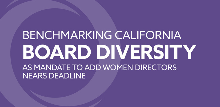 Benchmarking California Board Diversity