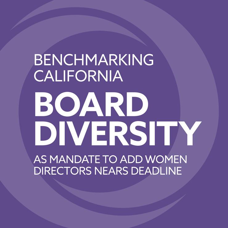 Benchmarking California Board Diversity