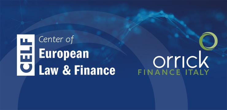 Center of European Law & Finance graphic