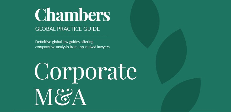 cover of Chambers Global Practice Guide: Corporate M&A 2020