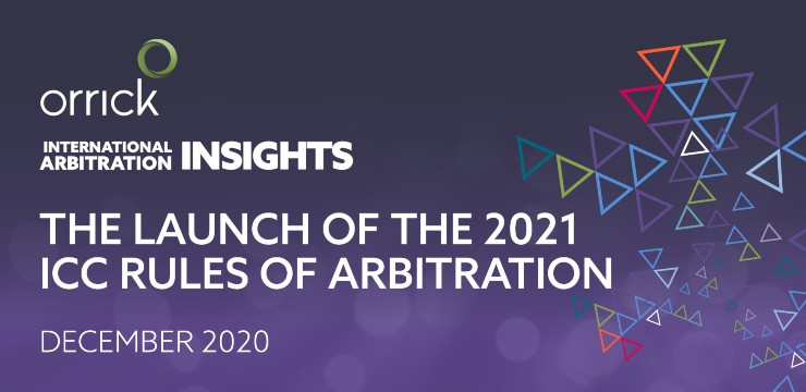 2021 ICC Rules of Arbitration