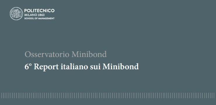 6° Report italiano sui Minibond