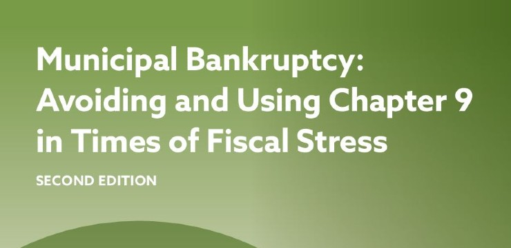 title graphic - Municipal Bankruptcy: Avoiding and Using Chapter 9 in Times of Fiscal Stress (Second Edition)