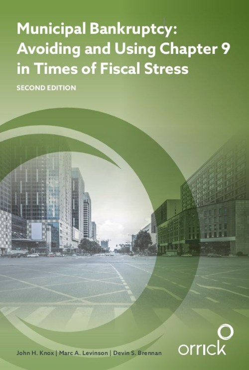 book cover - Municipal Bankruptcy: Avoiding and Using Chapter 9 in Times of Fiscal Stress (Second Edition)