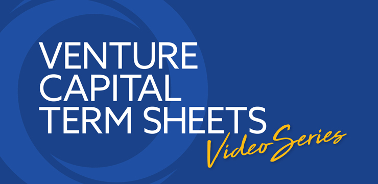 Venture Capital Term Sheets Video Series