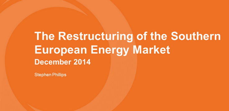 Southern Europe Energy Restructuring
