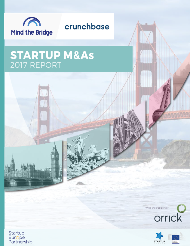 Startup M&As | 2017 Report
