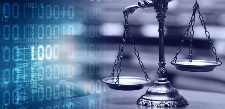 digital scales of justice