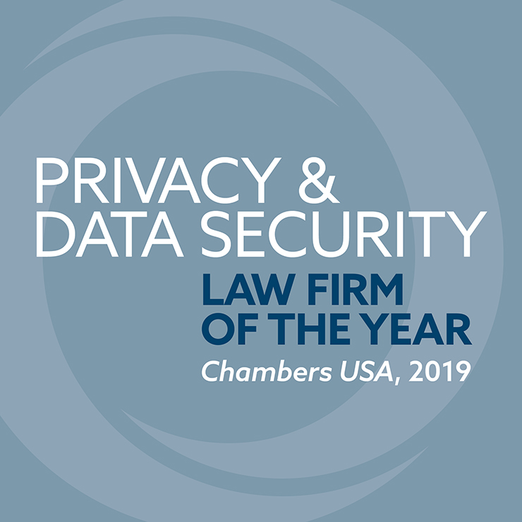 Chambers USA Privacy & Data Security Law Firm of the Year