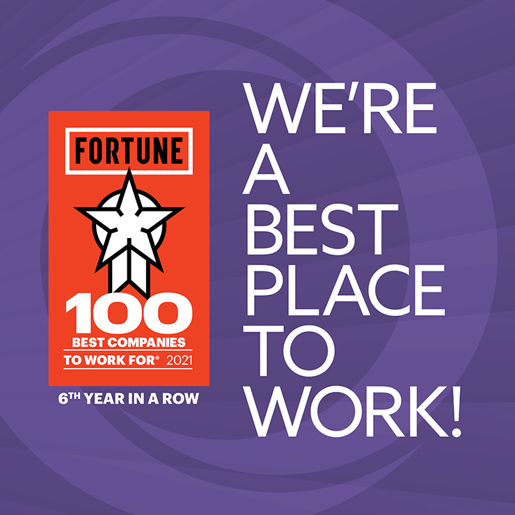 We're a Best Place to Work - 6th Year in a Row
