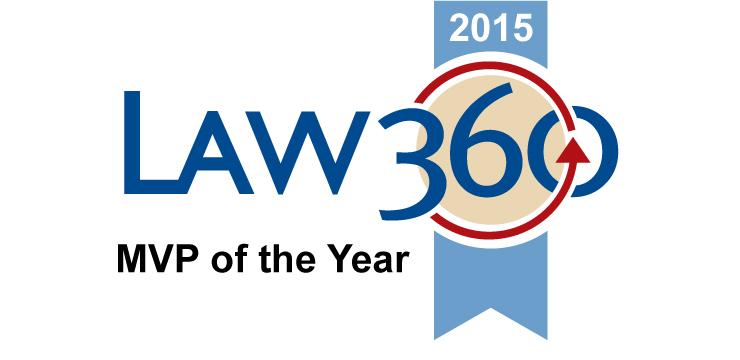 Law 360 MVP 2015