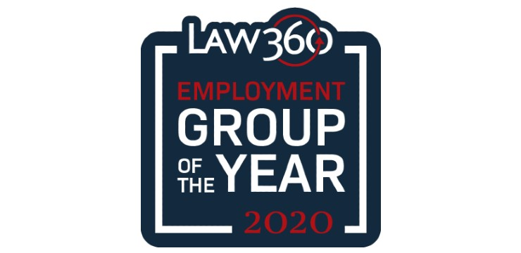 Law360 2020 Employment Practice Group of the Year