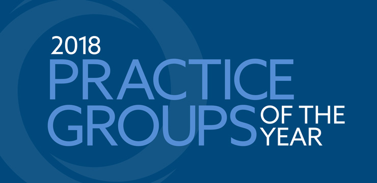 2018 Practice Groups of the Year