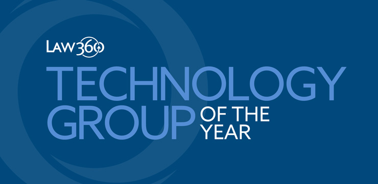 Law360 Technology Group of the Year 2018
