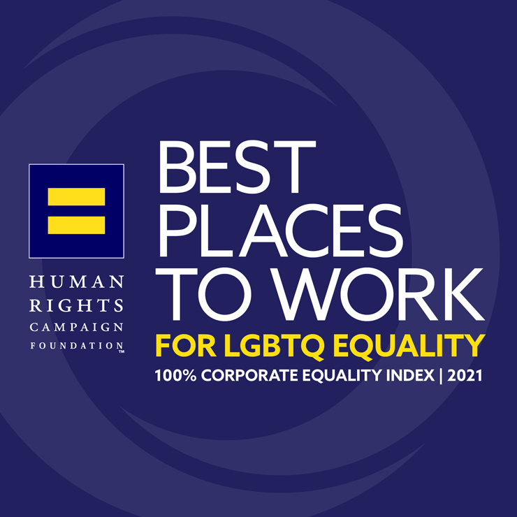 Best Places to Work for LGBTQ Equality 2021