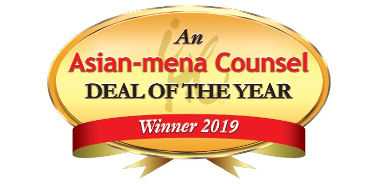 An Asia-mena Counsel Deal of the Year Winner 2019