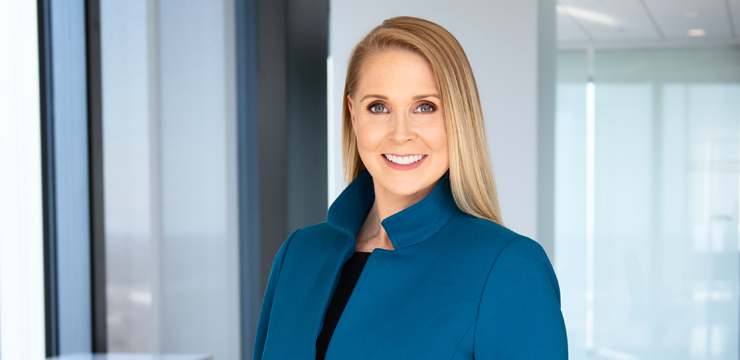 photo of Orrick partner Christina Maccio