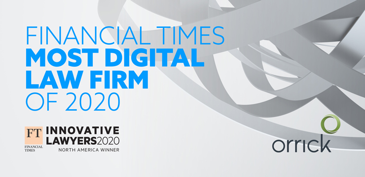 Financial Times Most Digital Law Firm of 2020