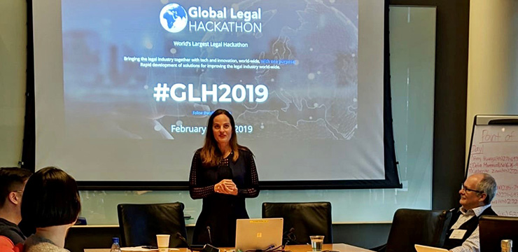 Global Legal Hackathon 2019 at Orrick