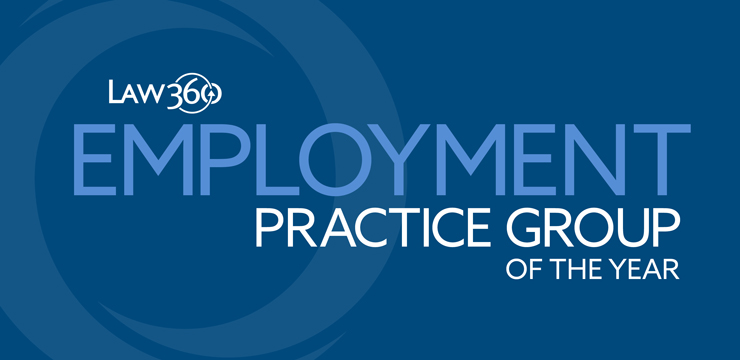 Orrick is a Law360 2018 Employment Practice Group of the Year