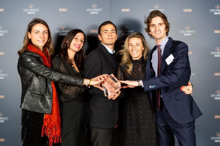 Studio dell'anno Fonti Rinnovabili - Energy Legalcommunity Awards 2019